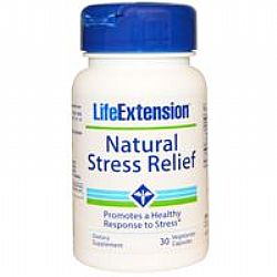 Life Extension NATURAL STRESS RELIEF FORMULA 30 veg.caps
