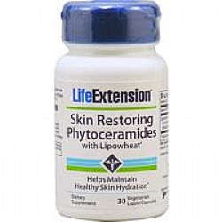 Life Extension SKIN RESTORING PHYTOCERAMIDES WITH Lipowheat® 30veg.caps