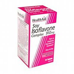 Health Aid Soy Isoflavone 910mg veg.tabs 30s