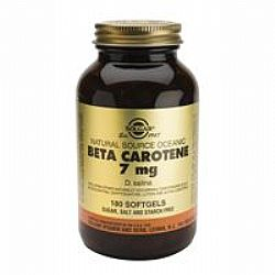 Solgar Beta-Carotene 7mg softgels 180s