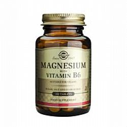 Solgar Magnesium With Vitamin B6 tabs 100s