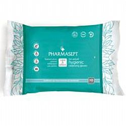 Pharmasept Tol Velvet Hygienic Cleansing Gloves (10τεμ.)