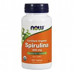 Now Spirulina 500mg 100VegTabs