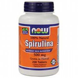 Now Spirulina 500mg 200VegTabs