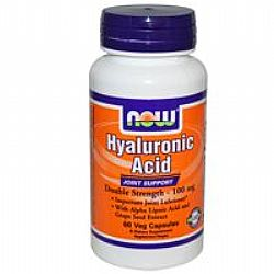 Now Hyaluronic Acid 50mg & 450mg Msm 60VegCaps