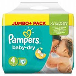 Pampers Baby Dry 4 (8-16kg) 78τμχ