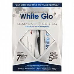 White Glo Diamond Series Professional & (Λευκαντικό Gel & Μασελάκι) (Νο1 Στην Αυστραλία)