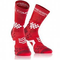 Compressport V2.1 Hi Cut 3D Trail Proracing Socks (Κόκκινο)
