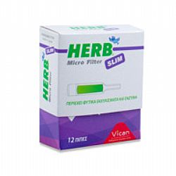 Vican Herb Micro Filter Slim 12τμχ