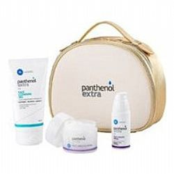 Medisei Panthenol Extra Gift For Her Face&Eye Cream 50ml + Face&Eye Serum 30ml + Face Cleansing Gel 150ml