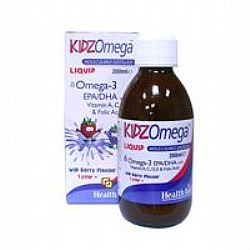 Health Aid Kidz Omega With Vitamins Liquid 200ml