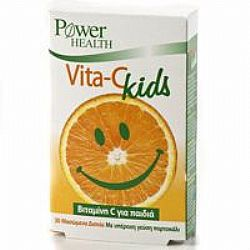 PowerHealth Vitamin C Kids tabs 30s