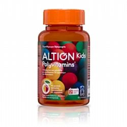 Altion Polyvitamins 60 Ζελεδάκια
