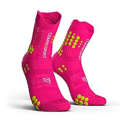 Compressport V3 Trail Smart Pro Racing Socks Fluo Pink