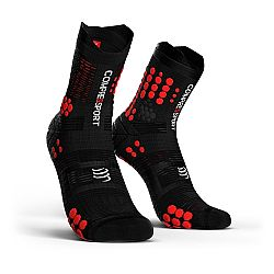 Compressport V3 Trail Smart Pro Racing Socks Μαύρη/Κόκκινη