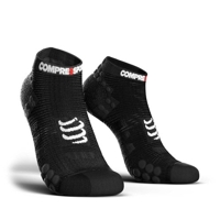 Compressport V3 Lo Smart Run Socks Μαύρη