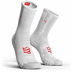 Compressport V3 Smart Bike Socks Ασπρη