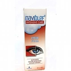 Novax Naviblef Intensive Care Αφρός Βλεφάρων 50ml