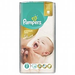 Pampers premium Care No2 3-6kg 50τμχ