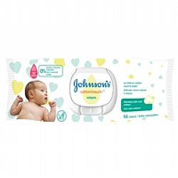 Johnson & Johnson Cottontouch Baby Wipes 56τμχ