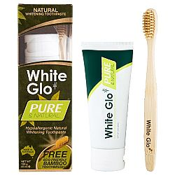 White Glo Pure & Natural 120gr