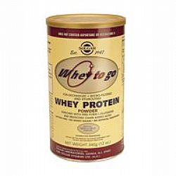 Solgar Whey to Go Protein Powder 340gr (Βανίλια)