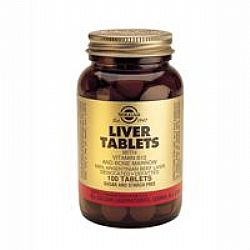 Solgar Liver with Vitamin B-12 720mg tabs 100s