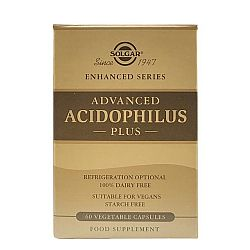 Solgar Advanced Acidophilus Plus veg.caps 60s