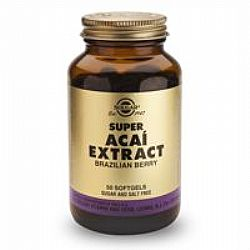 Solgar Super Acai Extract softcels 50s