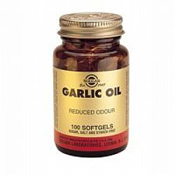 Solgar Garlic Oil softcels 100s