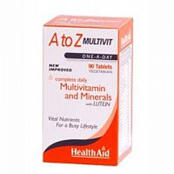 Health Aid A to Z Multivit (Once-A-Day) veg.tabs 90s