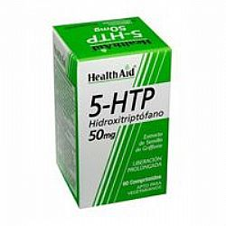 Health Aid Hydroxy Tryptophan 5-HTP 50mg veg.tabs 60s