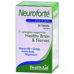 Health Aid Neuroforte veg tabs 30s