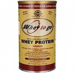 Solgar Whey to Go Protein Powder 454gr