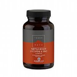 TERRANOVA Nettle Root, Lycopene & Zinc Complex - Prostate Support 50caps